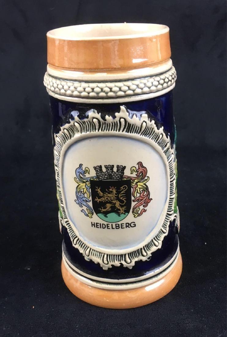 Vintage German Beer Stein Marked Heidelberg - 2