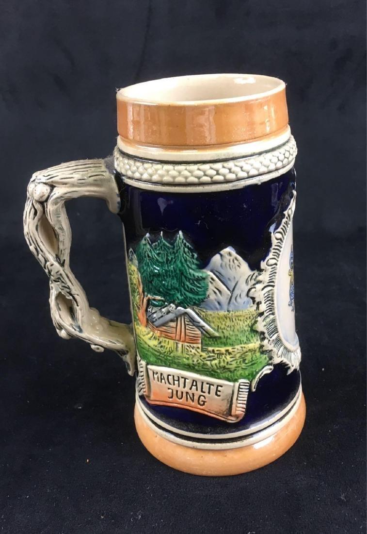 Vintage German Beer Stein Marked Heidelberg - 3