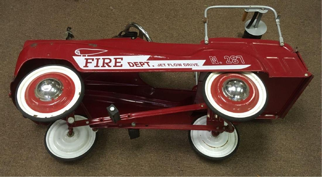 Child's Pedal Car Fire Engine - 6