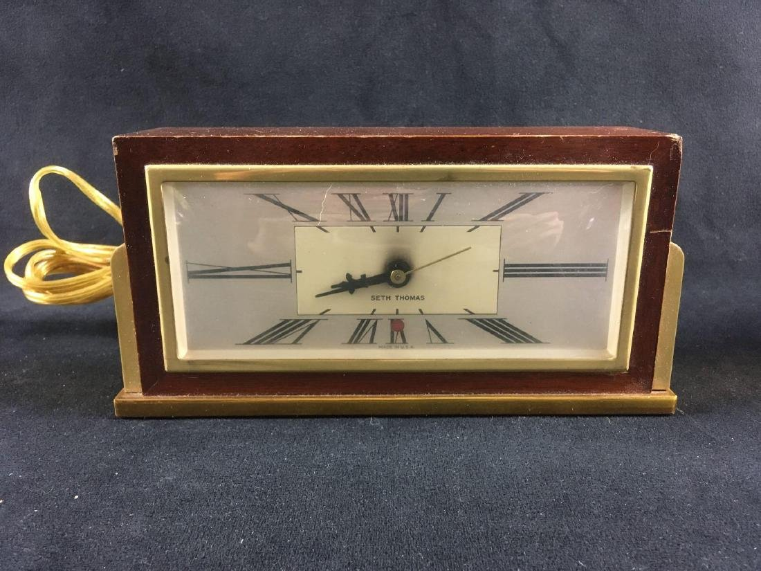 Vintage Art Deco Seth Thomas Desk Clock