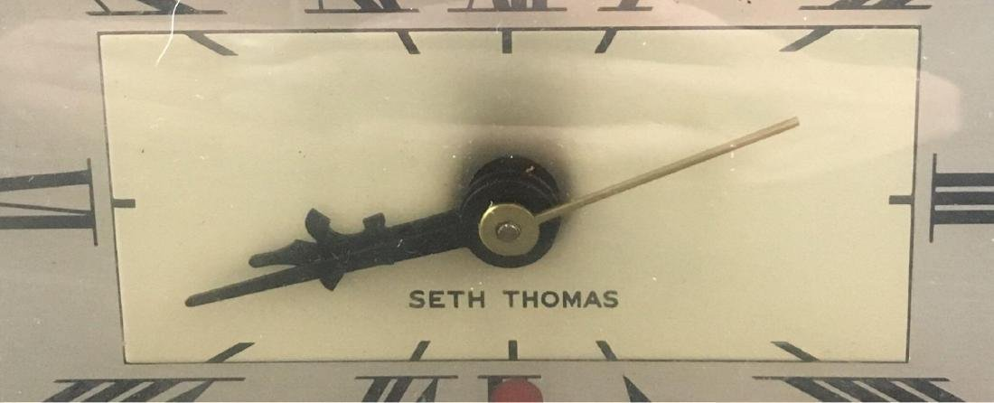 Vintage Art Deco Seth Thomas Desk Clock - 2