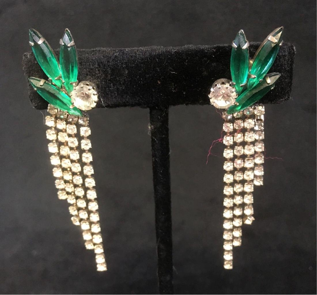 Vintage Collection Of Art Nouveau Style Earrings - 2