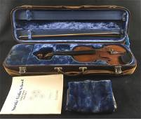 Early 20th Century Trade Violin with Jaeger Case