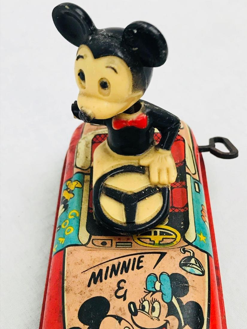 Vintage Marx Disney Tin Toy, Mickey Mouse Clockwork - 10
