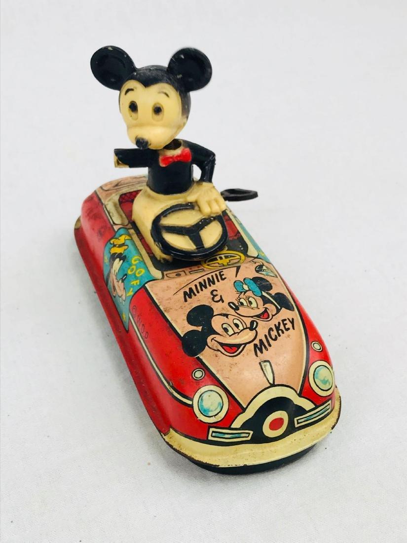 Vintage Marx Disney Tin Toy, Mickey Mouse Clockwork