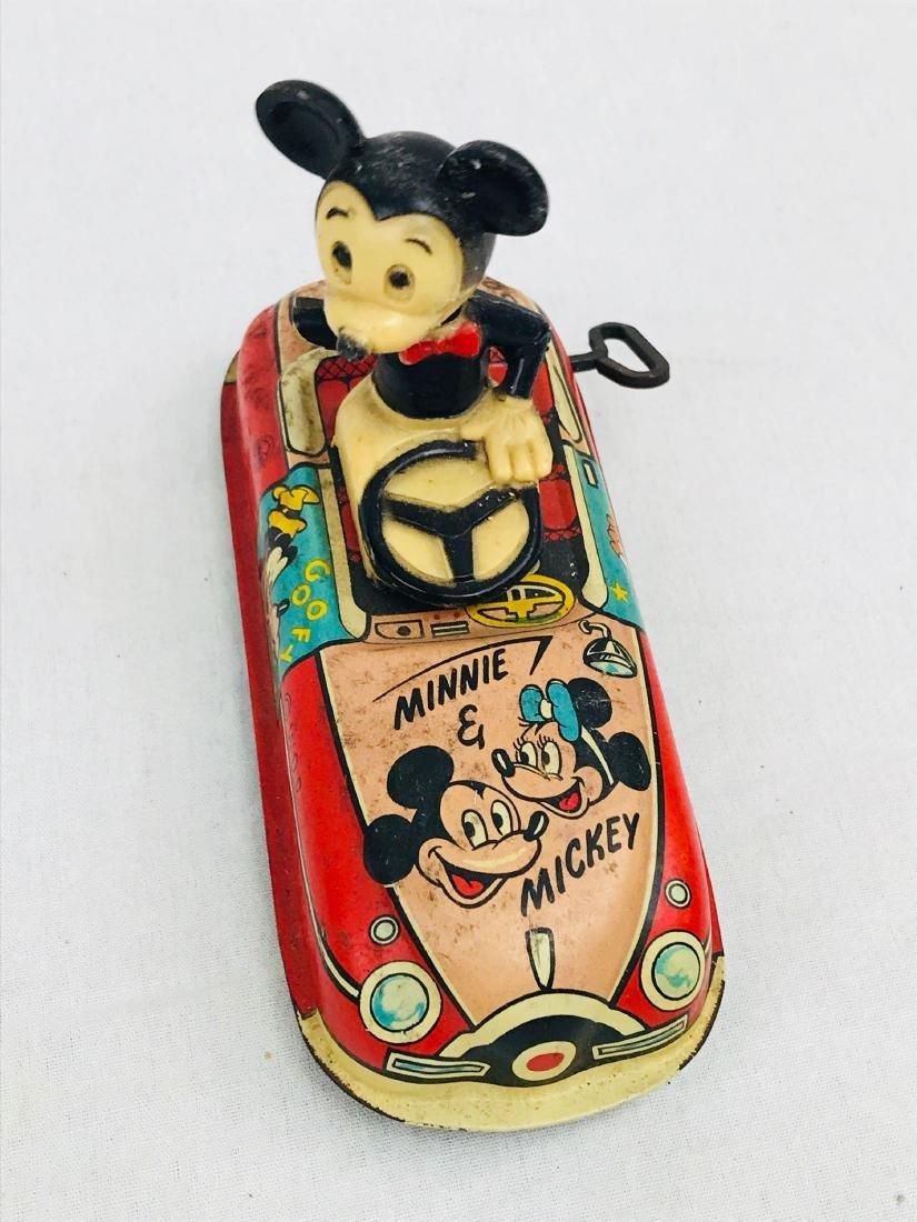 Vintage Marx Disney Tin Toy, Mickey Mouse Clockwork - 2