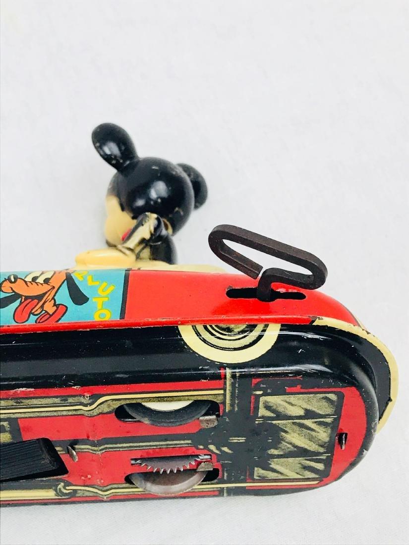 Vintage Marx Disney Tin Toy, Mickey Mouse Clockwork - 7