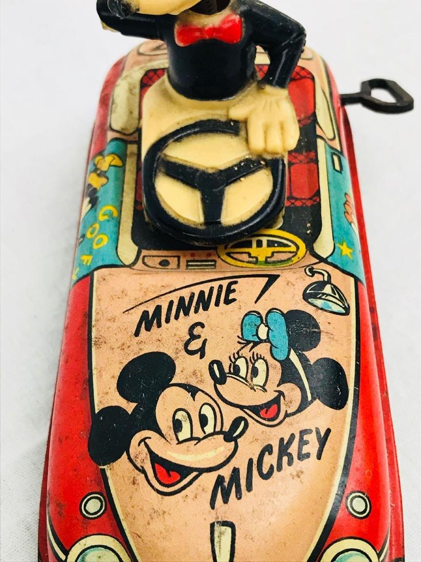 Vintage Marx Disney Tin Toy, Mickey Mouse Clockwork - 9