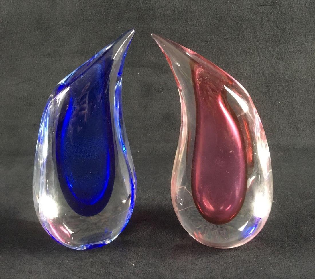 Mid Century Modern Italian Art Glass Pair of - 6