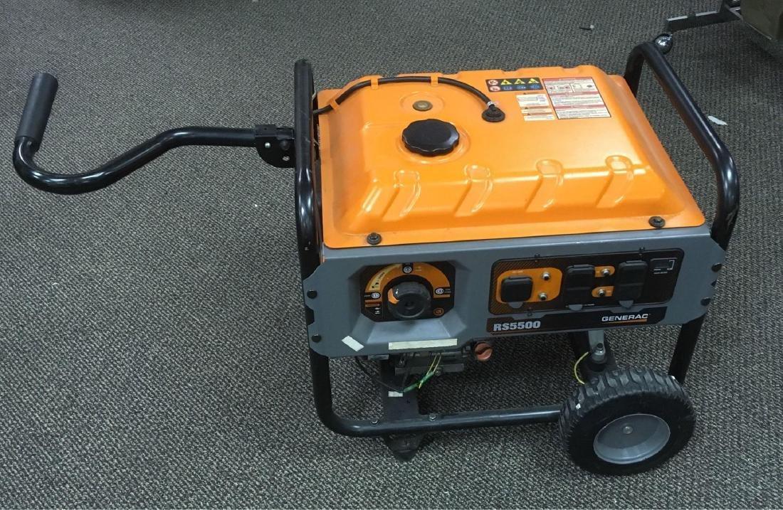Generac RS5500 Portable Generator - Apr 25, 2019 | Rapid