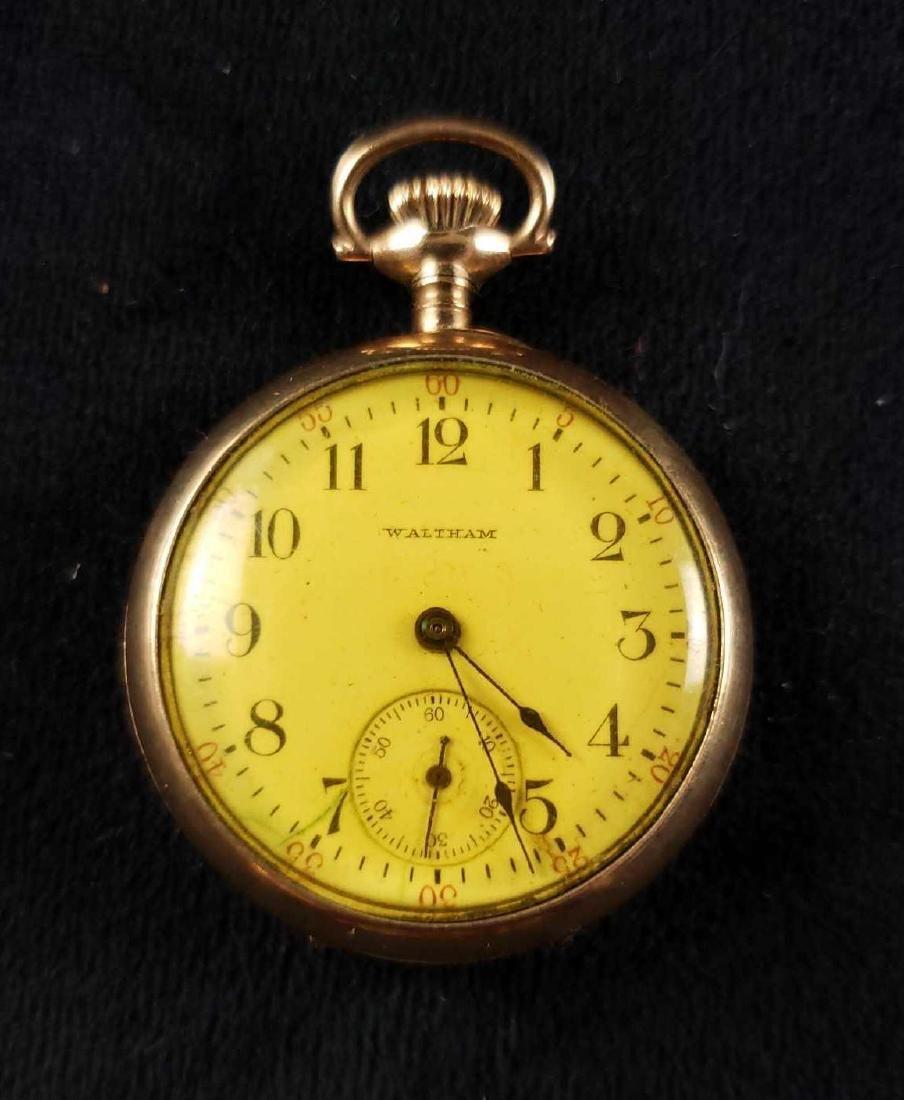 Waltham 20 Year Gold Filled Bob Royal Case Pocket Watch