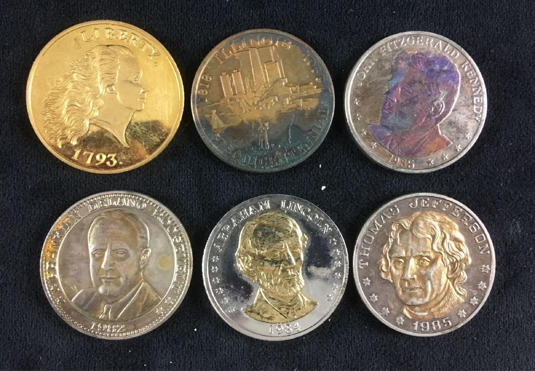 U.S. Collector Coin Token Lot