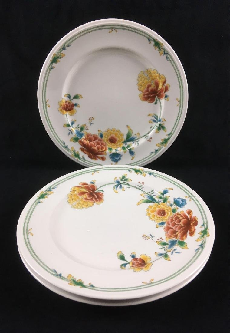 Vintage Noritake Dinner Plate Set