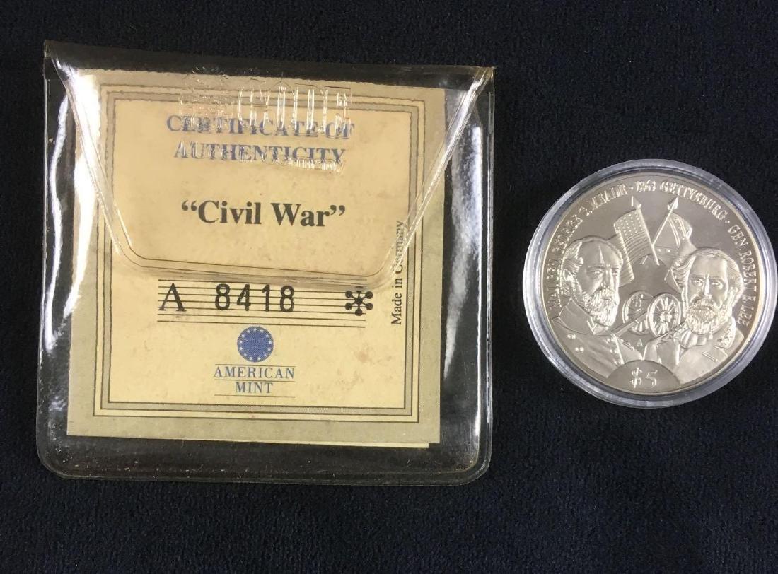 US Civil War Major General George G Meade and General