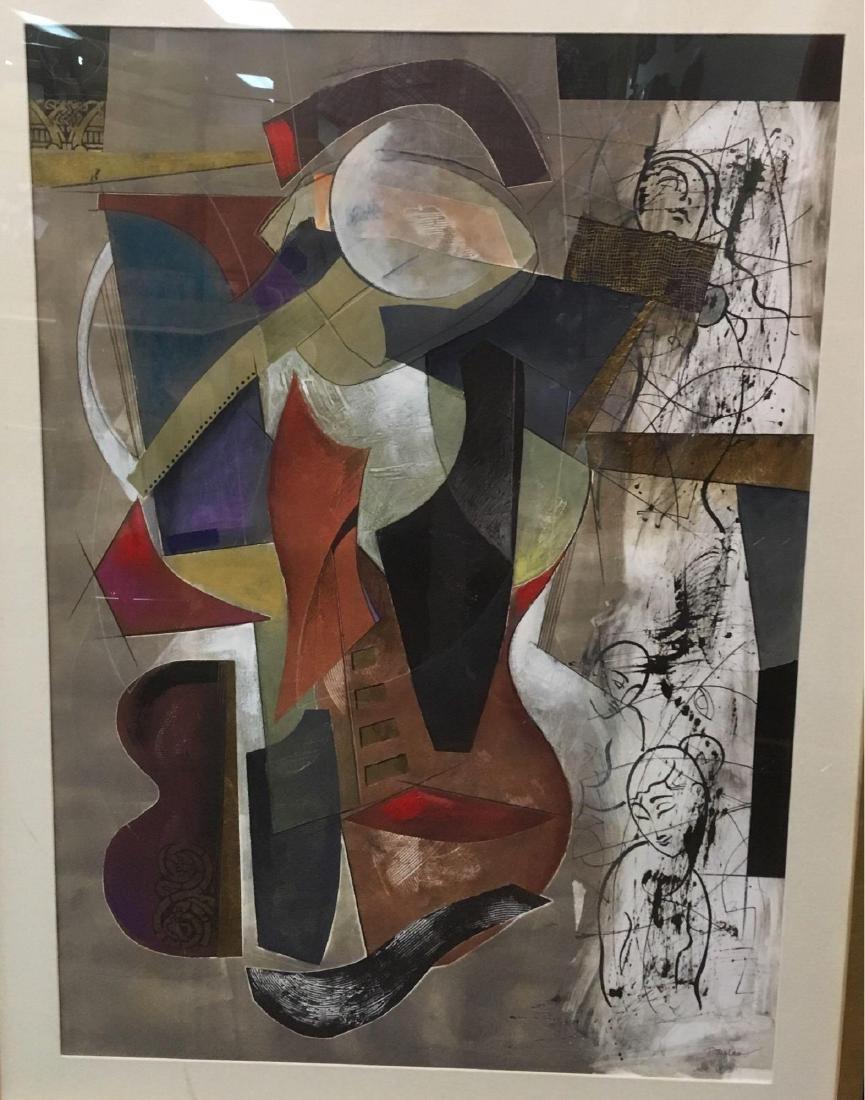 Original Fine Art Picasso's Dream by John Douglas and