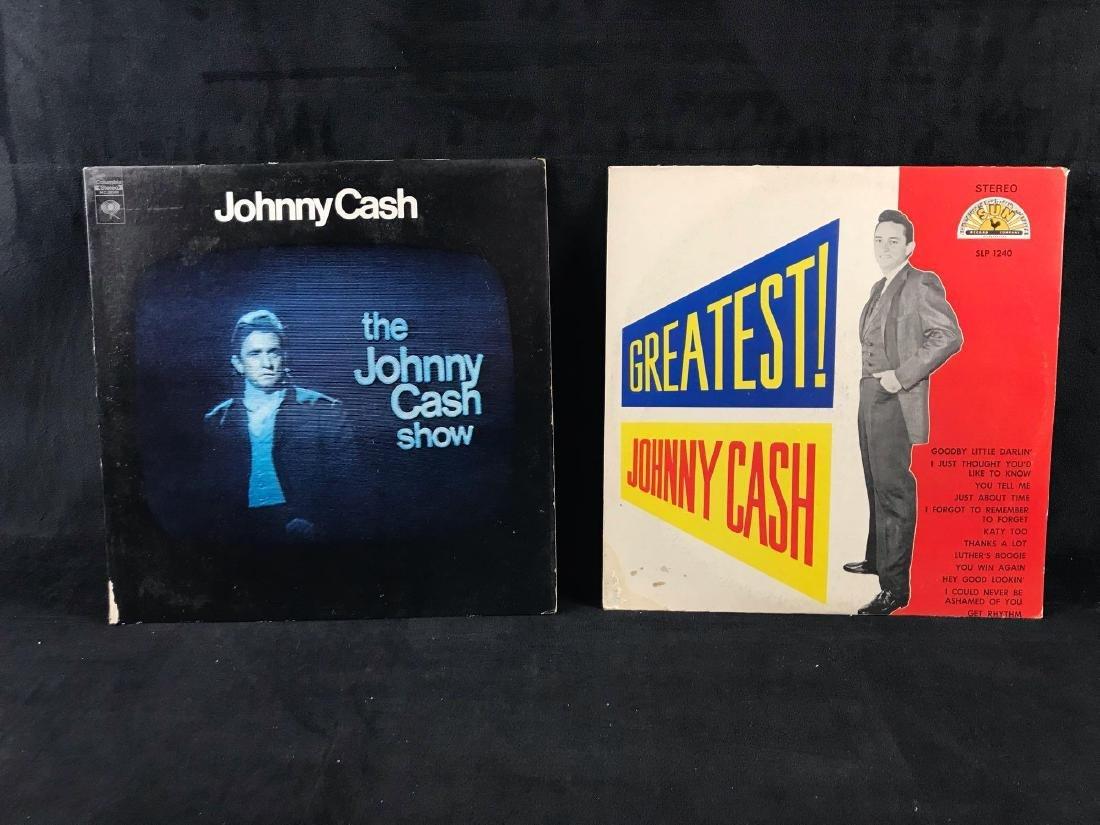 Vintage Johnny Cash Vinyl Collection