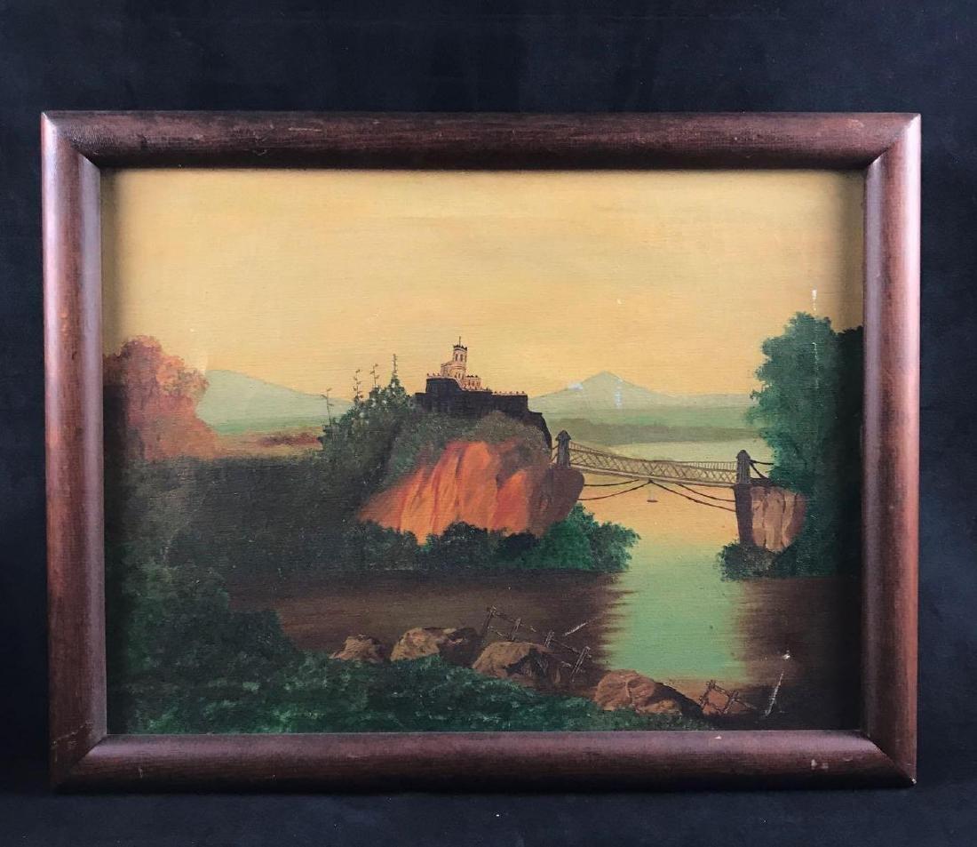 Vintage Original Oil Paining Signed