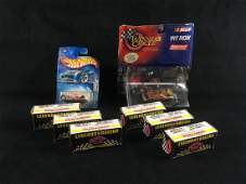 8 Vintage Diecast Collector Cars and Legends of Racing
