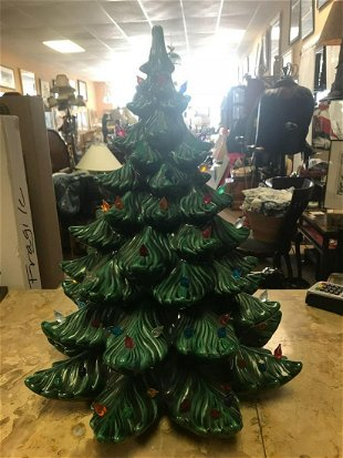 2381420d9bd51 2) Vintage Ceramic Christmas Trees with Lights - Aug 29, 2017 ...