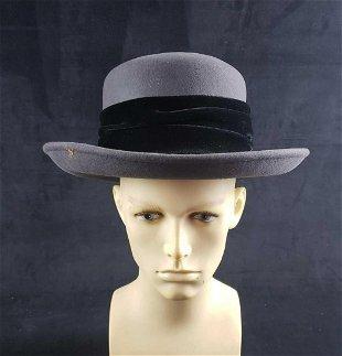 c2662d891 38323: Robert Oppenheimer: Fine Gray Felt Stetson Hat - Nov 30, 2011 ...