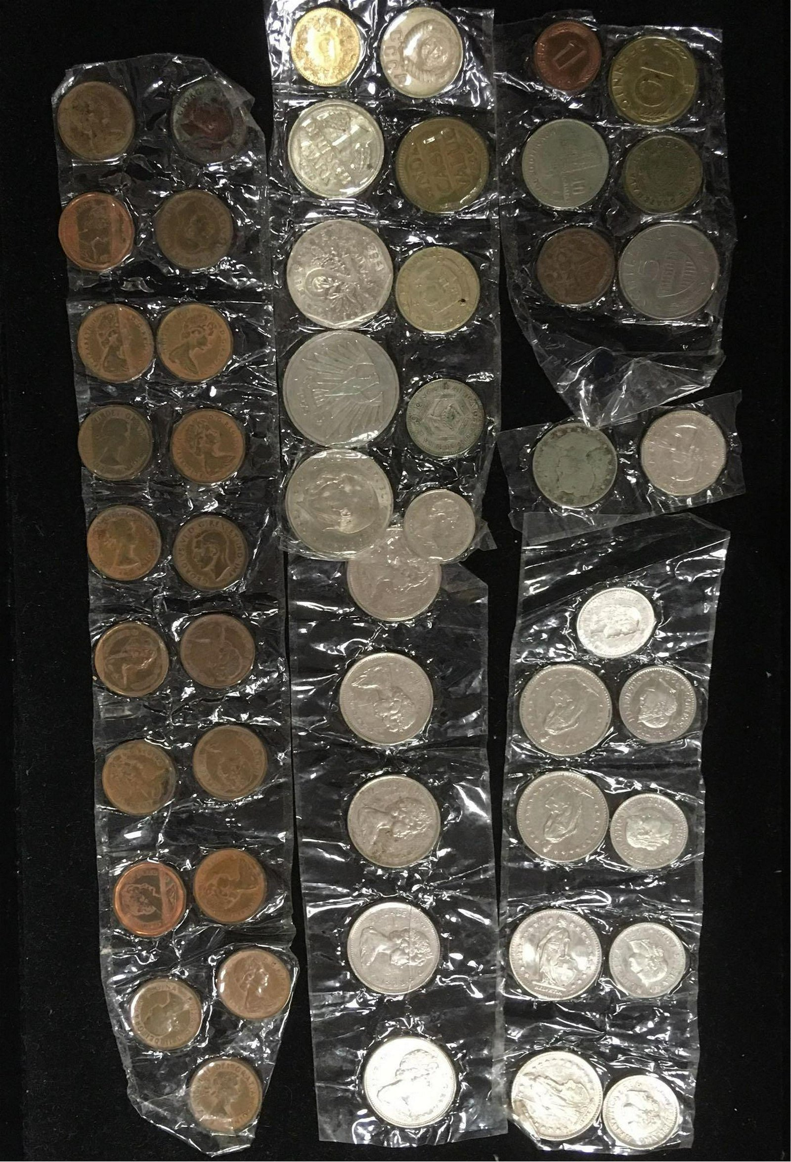 Mixed Lot of World Coins