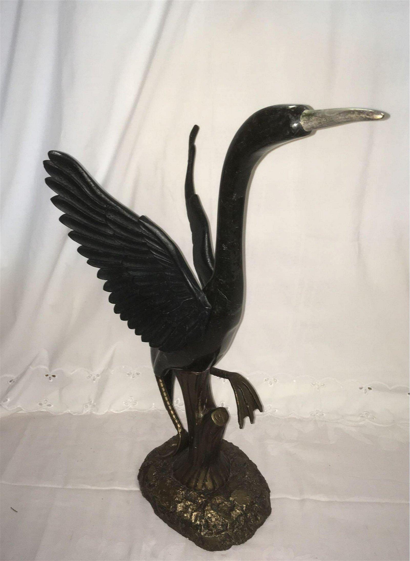 Vintage Imported Art Nouveau Style Statue