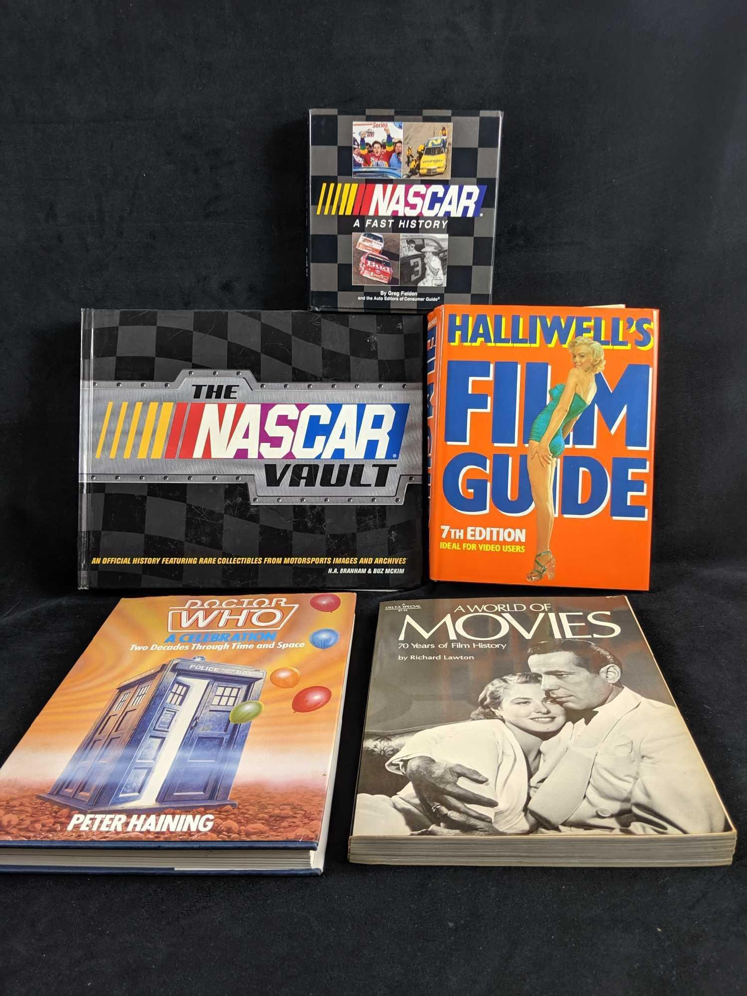 Lot Of Five Books On Entertainment
