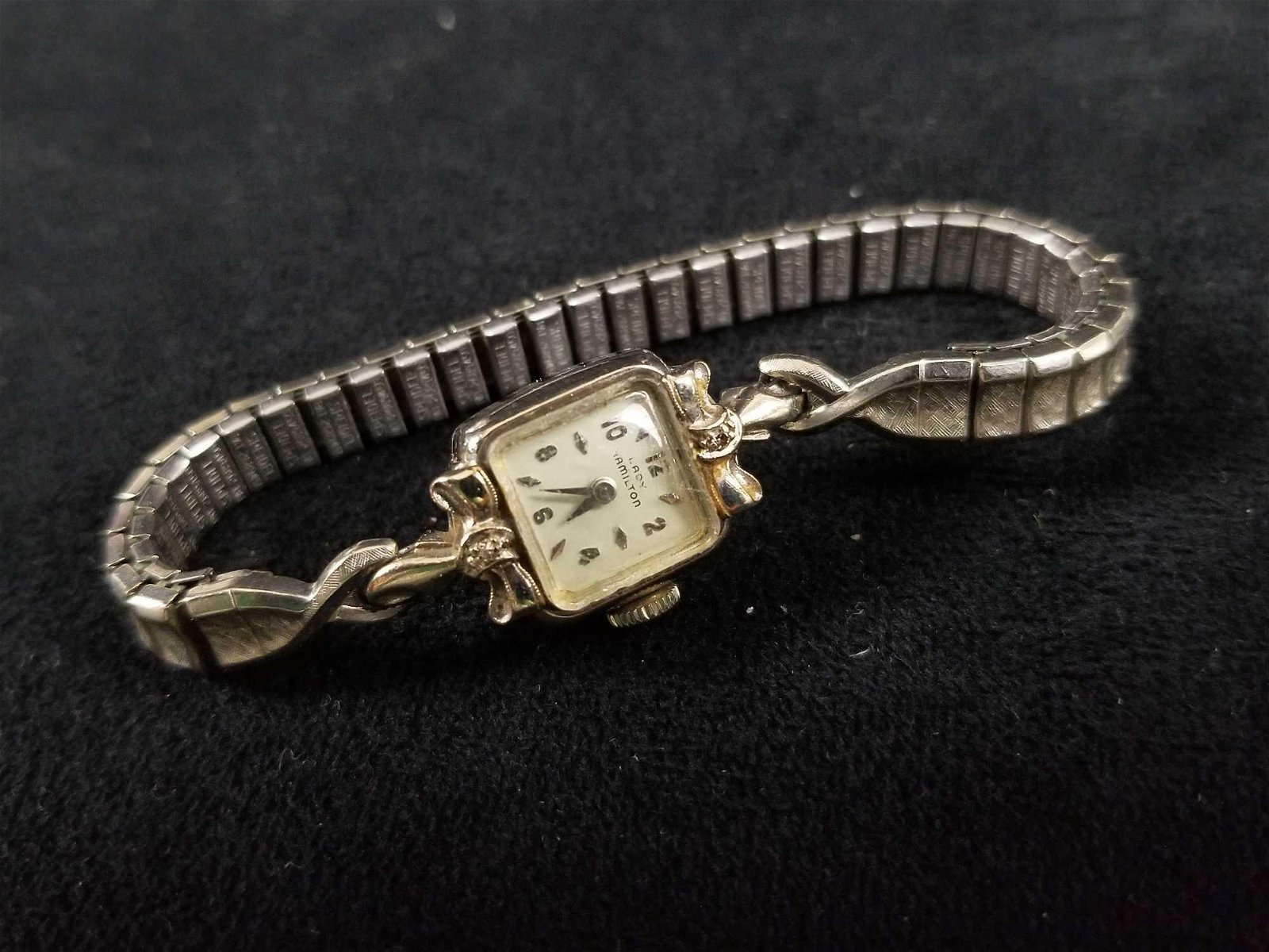14K Gold Lady Hamilton Vintage Watch