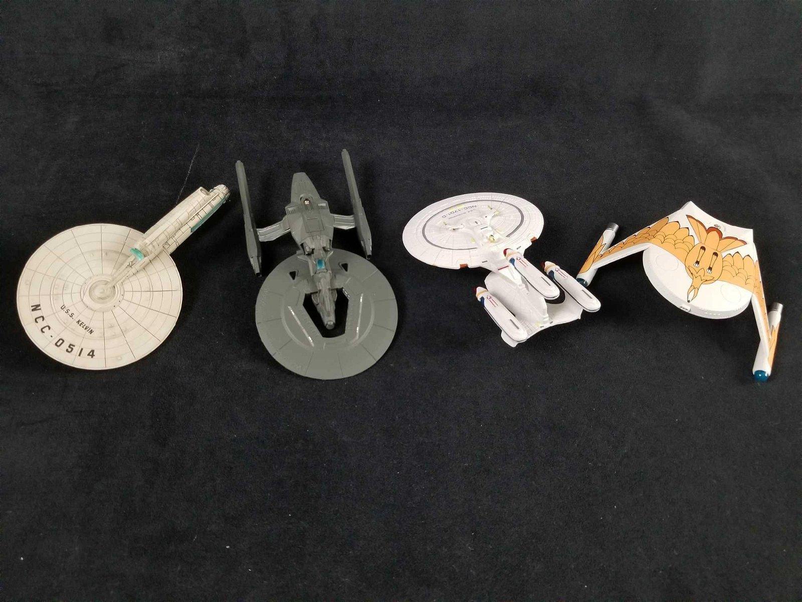 Star Trek Hollmark Keepsake Christmas Ornaments Lot of
