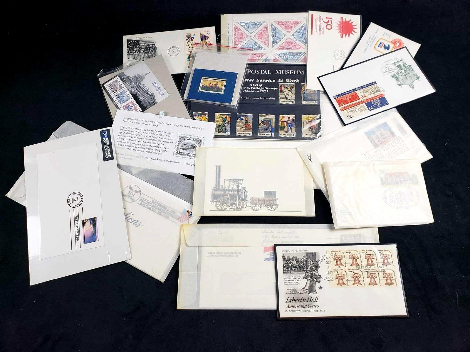 Collection of US Postal Service Stamps and Covers