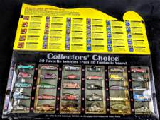 1998 Mattel Hot Wheels Collectors Choice Boxed Die Cast