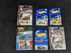 Hot Wheels Lot Of Six Die Cast Cars