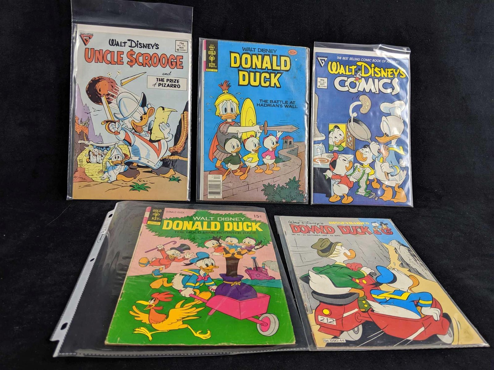 Disney Collection Of Five Classic Donald Duck Tales