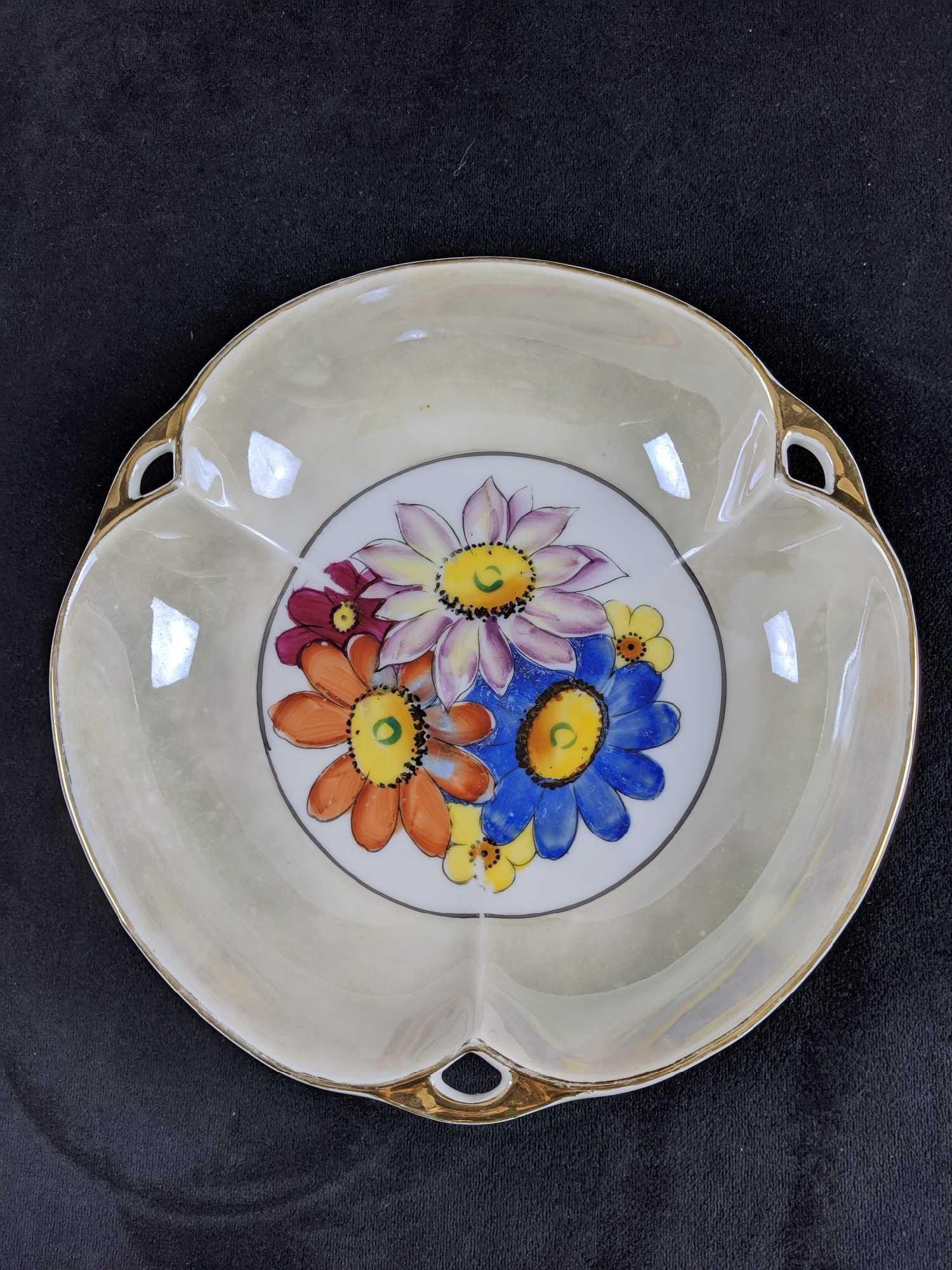 Vintage Japanese Porcelain Noritake Decorative Dish