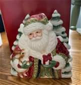 Fitz and Floyd Santas Forest Friends Napkin Holder