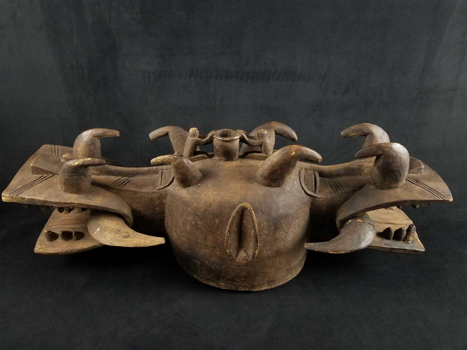 Central African Double Headdress