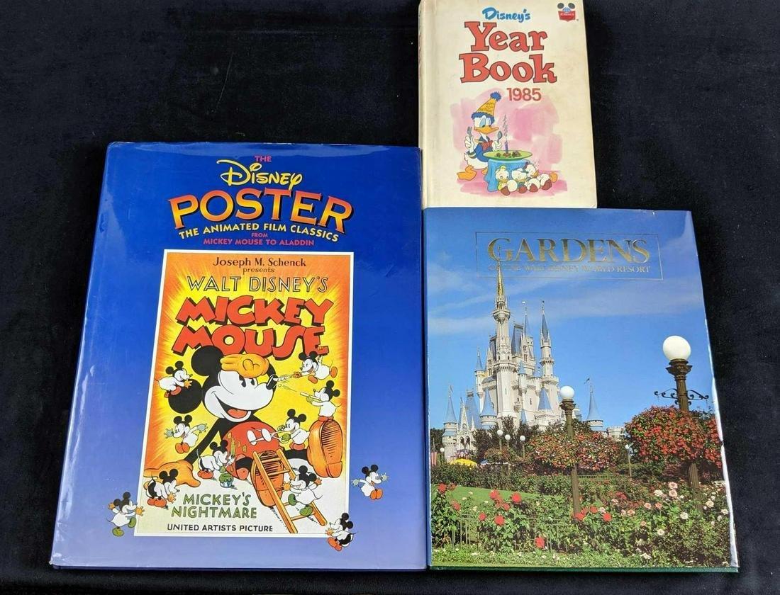 Lot Of Three Disney Hardcover Books