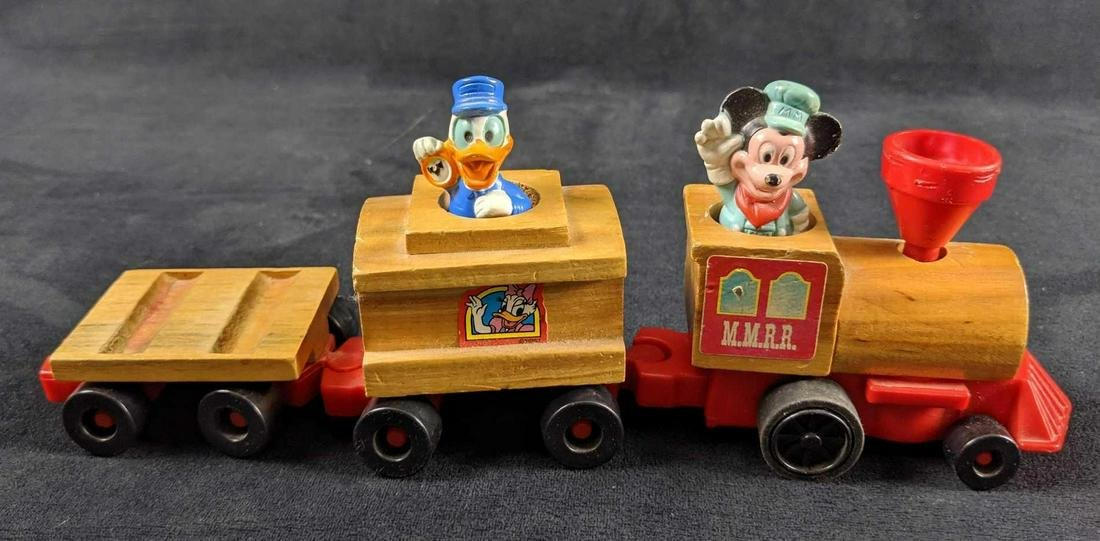 Vintage 1972 Mattel Disney Mickey Mouse And Donald