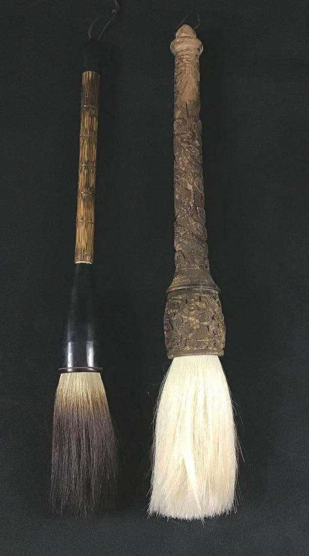 Calligraphy Brushes Large Horse Hair Oriental