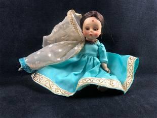 Vintage Madame Alexander Doll India 1965