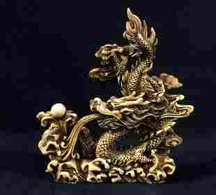 Feng Shui Celestial Dragon Chinese Pearl Of Wisdom