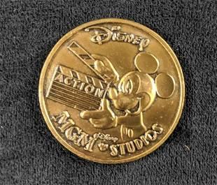 Disney Vintage Coin Token Lot Of Seven