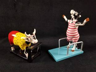 CowParade 2001 High Dive Cow 2005 Cow Isthetics Retired