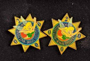 Rare Disney Lot Of Five Pins Limited Edition
