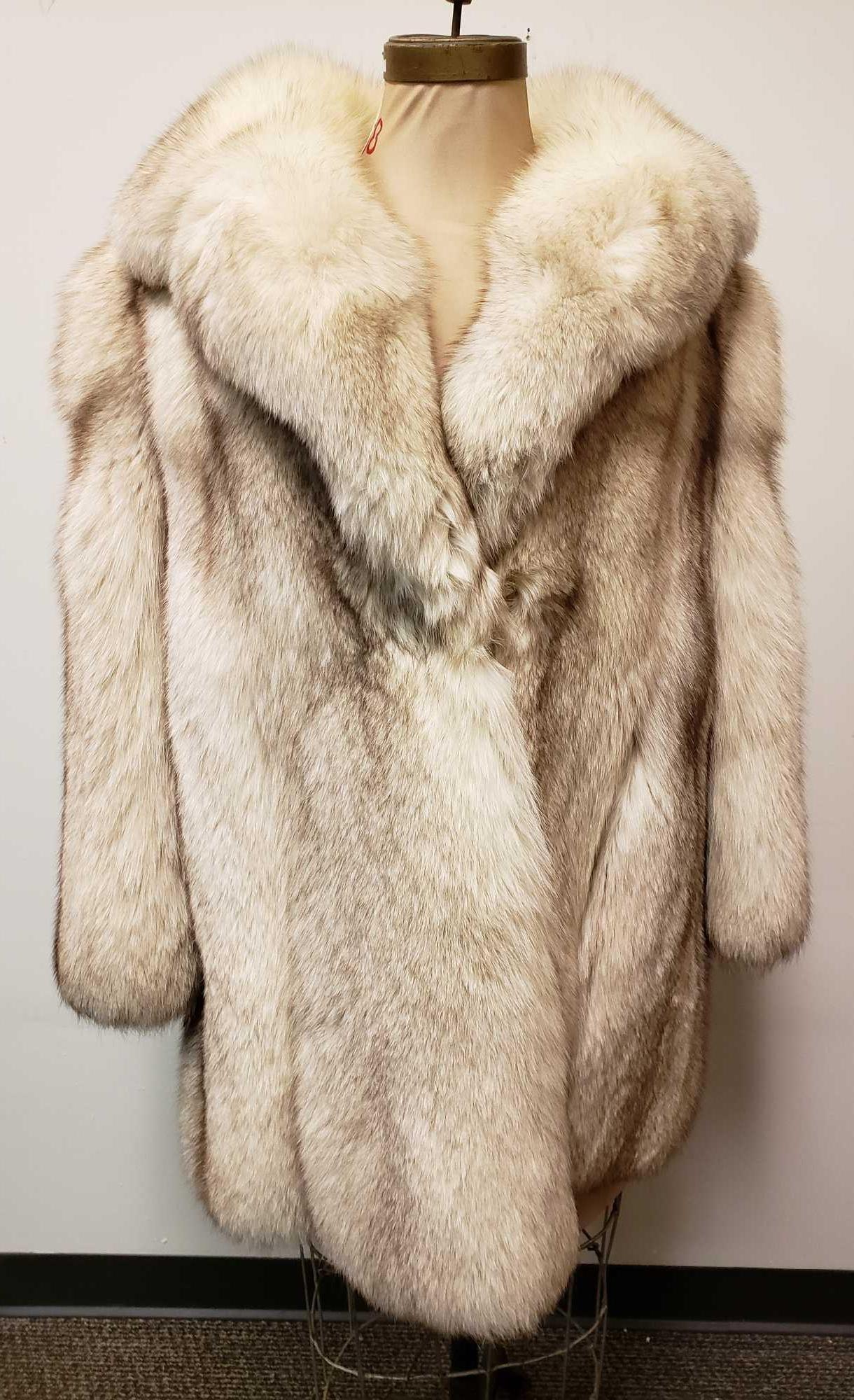 Confetti Livorno Fox Coat