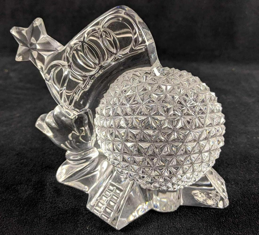 Disney Retired Limited Edition Waterford Crystal Epcot