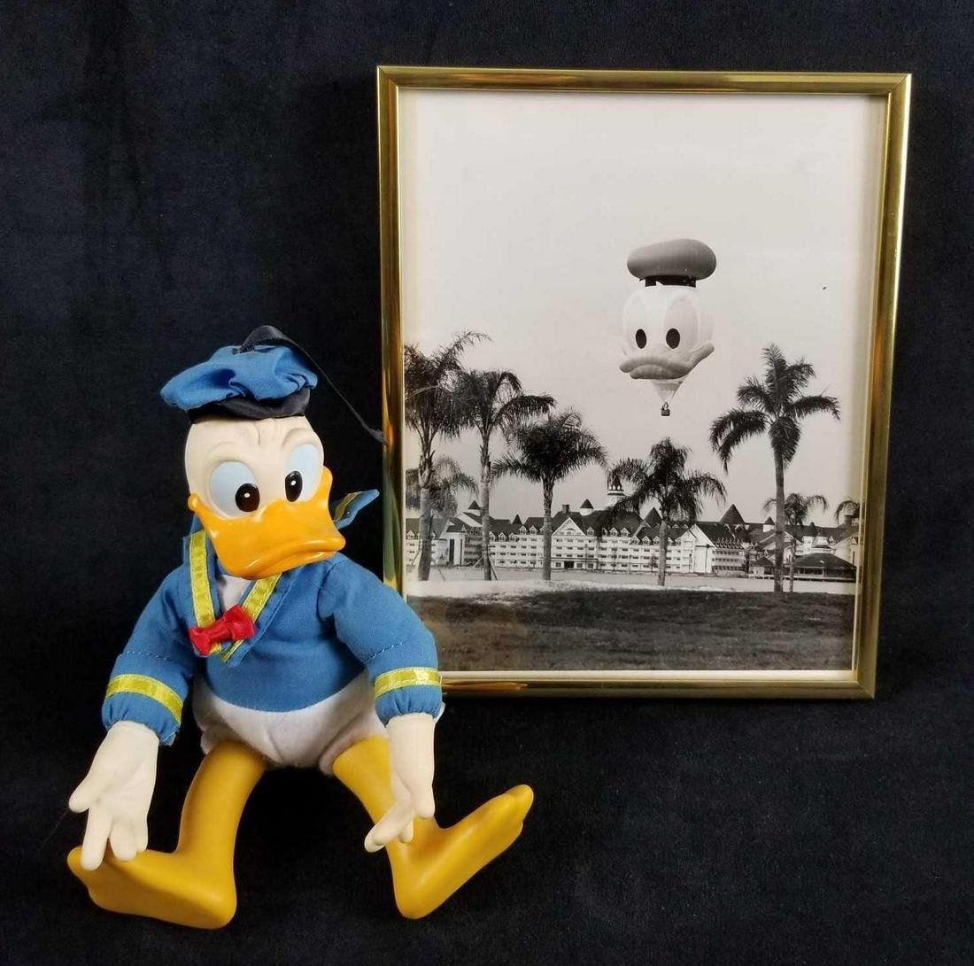 Hasbro Sitting Donald Duck Disney Playmates toy and