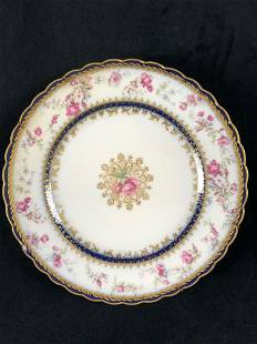 Haviland France Haviland Co Limoges Pink Roses Gold