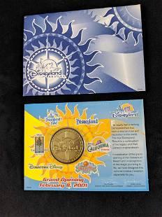 Disneyland Resort Opening Collector Coin