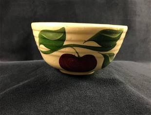 Vintage Watt Pottery Hand Painted Apple Leaf Ceramic 5